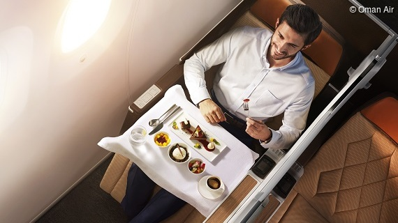"Oman Air – ""The Middle East's Leading Airline"" in Business Class 2019"